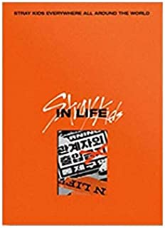 Stray Kids in Life IN生 The 1st Album Repackage Standard A Version (Incl. Pre-Order Benefits : Poster (Folded), Mini Photob...