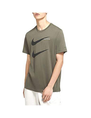 Nike M NSW SS Tee Swoosh PK 2 - Camiseta, Todo el año, Hombre, color Combi., tamaño 2XL