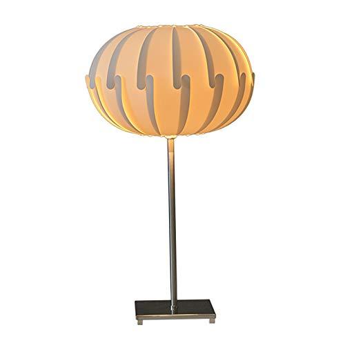 Lámpara de Cabecera Lámpara de mesa moderna blanca de polipropileno Pantallas de iluminación de la lámpara de calabaza dormitorio de noche noche de la lámpara LED de luz perfecta for la decoración del