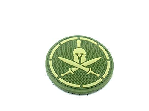 Spartan Verde Espada Cosplay PVC Parche