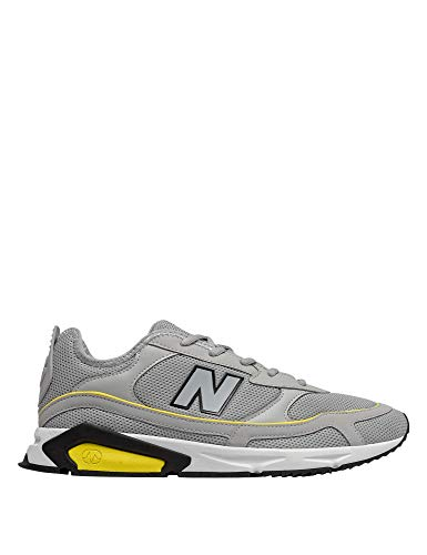 New Balance Men's X-Racer Sneakers -Yellow Grey in Size 45