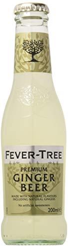 Fever-Tree Ginger Beer 4 x 200 ml (Pack of 6, Total 24 Bottles)