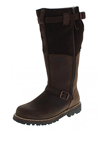 Meindl 7730-39 Kiruna GTX Mahagoni/Herren Winterstiefel Braun/Winter/Activity, Grösse:49.5 (14 UK)