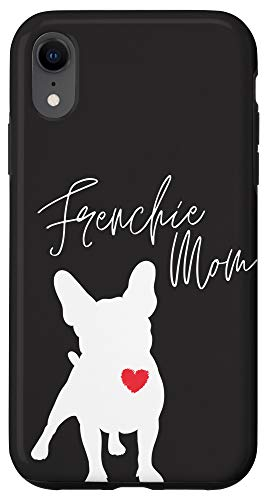 iPhone XR Frenchie Mom French Bulldog Black Case