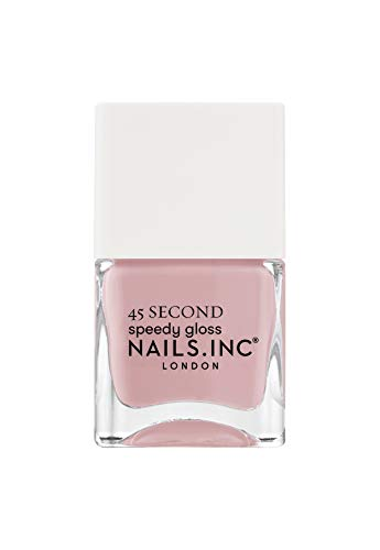 Nails.INC 45 Second Speedy Gloss Kings Cross mantiene fresco 14 ml