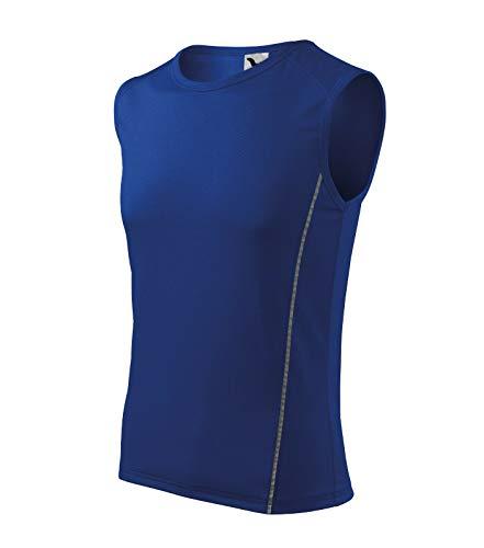 Herren T-Shirt Sportshirt Shirt Top Muskelshirt von Furtwängler - Größe und Farbe wählbar - (XXL, königsblau)