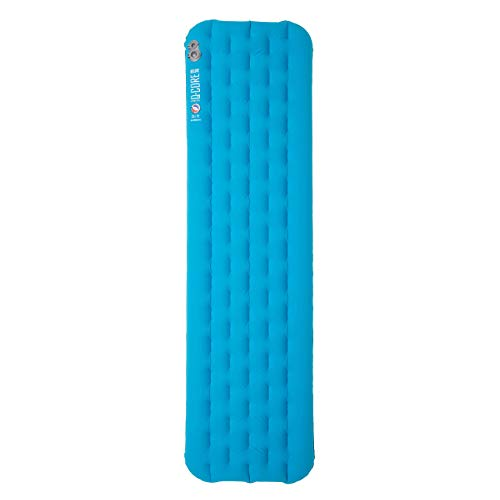 Big Agnes Unisex's Insulated Q-Core Deluxe Sleeping Pads, Turquoise, 30x78 (X-Wide Long)
