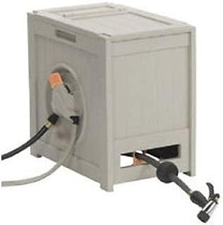 RSH125 Crate 125-Foot Water Powered Retractable Garden Hose Reel