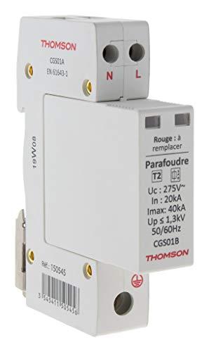Thomson Überspannungsschutz, modular, Ph+N, ideal T2 – 40 kA