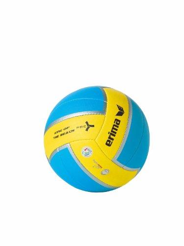 Erima King of the Beach VOLLEYBALL - aqua/yellow