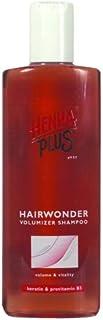Henna Plus 11402 Hairwonder champú voluminizador, 300ml