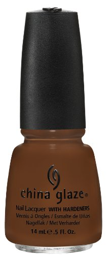 China Glaze Nail Lacquer, Mahogany Magic, 0.5 Fluid Ounce