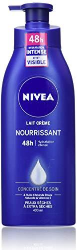 NIVEA Lait Crème Nourrissant 48h (400 ml), Crème...