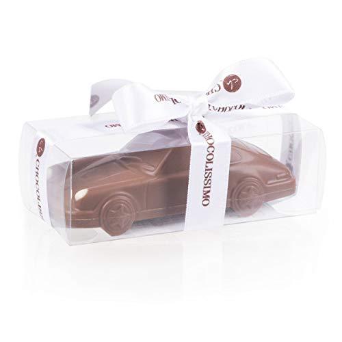 Porsche 911 Carrera - Mini - Schokoladenauto | Geburtstagsgeschenk | Auto aus Schokolade | Geschenk für Autoliebhaber | Kinder | Erwachsene | lustige Geschenkidee