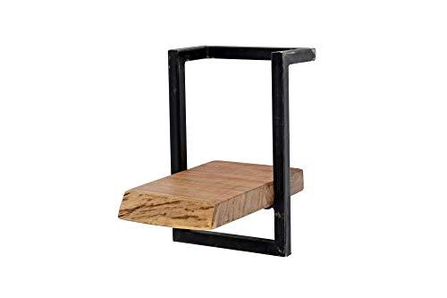 SalesFever Wandregal mit 1 Boden 20x25 cm aus Akazienholz Murray