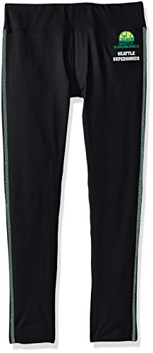 GIII For Her NBA Boston Celtics Women's Warm Up Leggings, Medium, Black