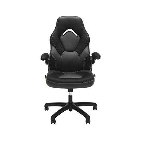 OFM ESS Collection GAMING CHAIR BLACK, Racing Style