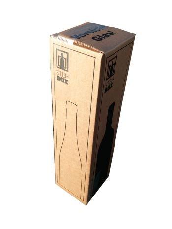 20x 1er Flaschen Versandkarton für Weinflaschen UPS DHL geprüft Weinversandkarton Wein Flaschen Versand Verpackung 20 komplette Kartons