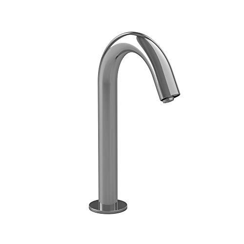 TOTO TEL123-D20ET#CP Helix M ECOPOWER 0.35 GPM Electronic Touchless Sensor Bathroom Faucet with Thermostatic Mixing Valve, Chrome-TEL123-D20ET, Polished Chrome
