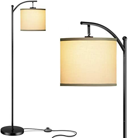 Addlon Floor Lamp for Living Room with Lamp Shade and 9W LED Bulb Modern Standing Lamp Floor product image