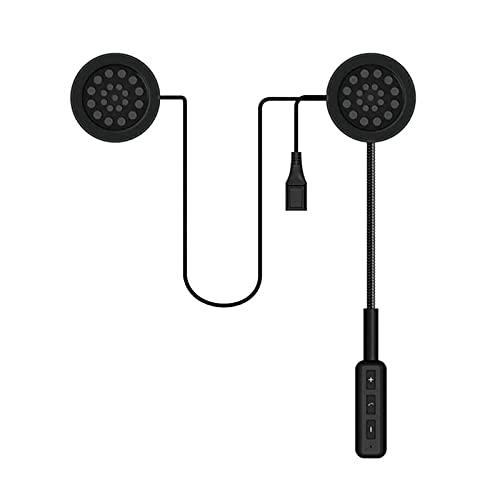 Auriculares para Casco con Bluetooth para Motocicleta, Auriculares para Motocicleta 5.0 con Micrófono con Brazo, Sistema De Comunicación De Casco con Sonido 3D / Impermeable Ip65 para Pasajeros