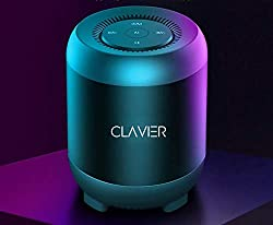 Clavier Atom Ultra Premium Bluetooth Speaker - Loud 360° HD Surround Sound, Wireless Dual Pairing, 10H Battery, IPX5 Waterproof with Rich Bass,Clavier,ATOMBLACK