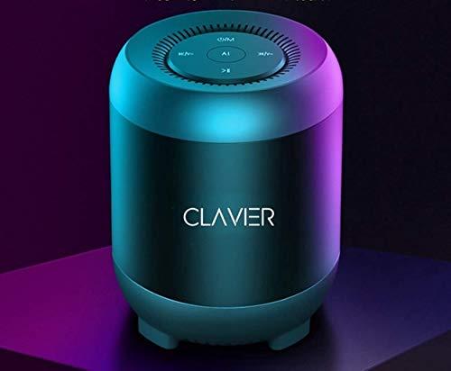 Clavier Atom Ultra Premium Bluetooth Speaker - Loud 360 HD Surround Sound, Wireless Dual Pairing, 10H Battery, IPX5 Waterproof with Rich Bass, Black