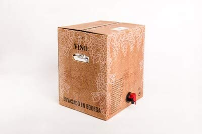 15 Litros Vino TINTO en Bag in Box - 13º Brick 15 Litros
