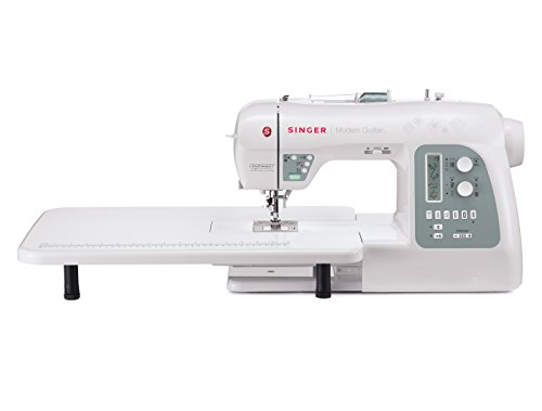 SINGER 8500Q Modern Quilter Computerized Portable Sewing and Quilting Machine with Bonus Accessories and Knee Lifter