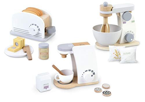 Leomark Wooden Toy Appliances Se...