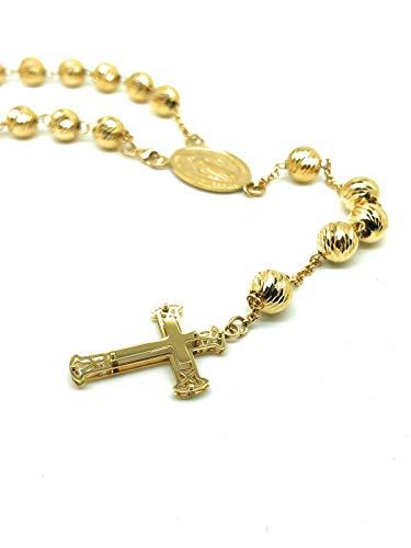 GILMA GIOIELLI Collana rosario in oro giallo 18kt