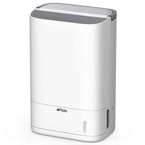 Basement Dehumidifier Afloia 500 Sq. Ft Desiccant Dehumidifier with Drain Hose X3 for Medium/Large Room, Washable Filter, Low Temperature Work, Not Frosted, Quiet Humidity Control, 15-Pint Water Tank
