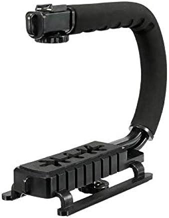 CAMVATE Handle Hand Grip Stabilizer Camera SLR DSLR for LED Video Flashlite 1//4 Black