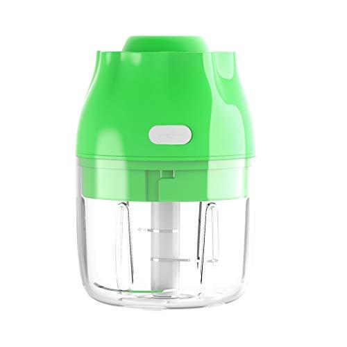 huiingwen Wireless Electric Garlic Chopper Food Processor Vegetable Baby Food Maker for Blending Mincing Meal Preparation