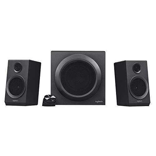 Logitech Multimedia-Lautsprechersystem (zertifiziert) Z333 Schwarz