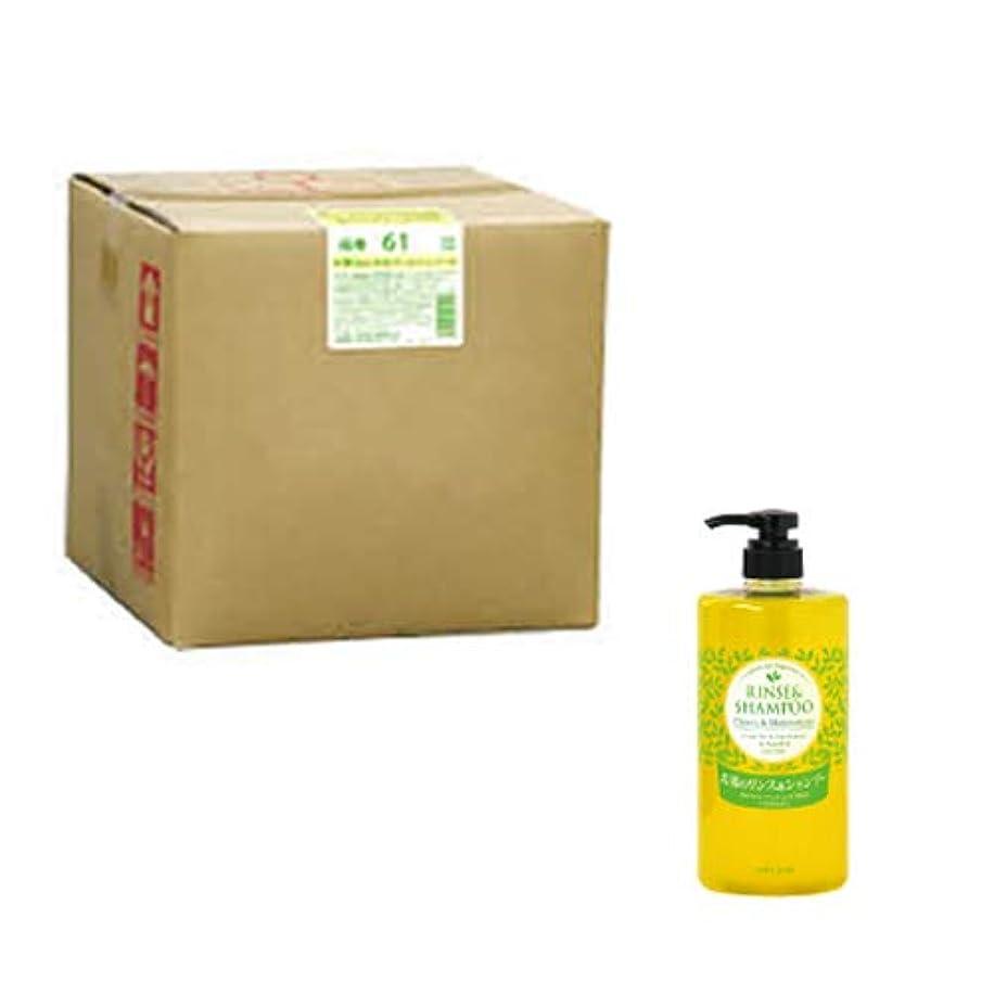 キネマティクスオアシスカスタム茶ワロエシャンプー(業務用)バックインボックス 20L