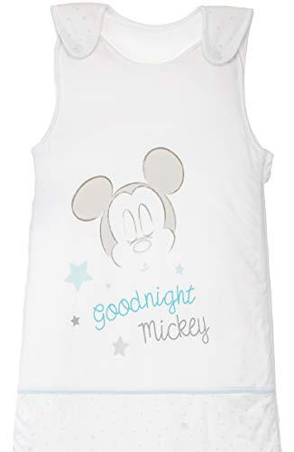 Baby Schlafsack Ganzjahresschlafsack Jersey-Baumwolle mit Motiven im Stil von Mickey Mouse 6-18 Monate ca. 90x45 cm TOG 2,5