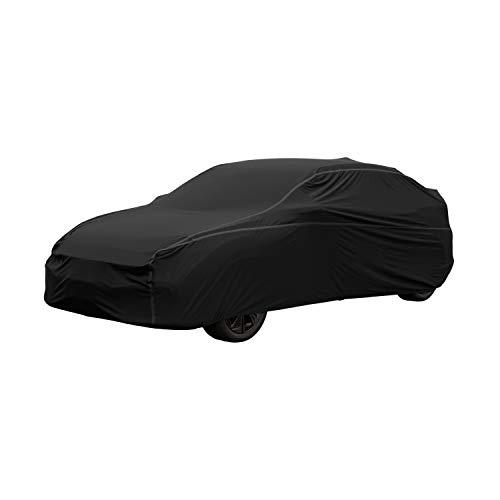 Classic Accessories 10-107-320401-RT Vollgarage/Autoabdeckung, schwarz, 15.25 Foot Stretch Hatchback/Wagon Car
