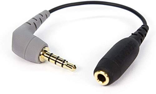 Rode TRS-TRRS Adapter (3,5 mm Buchse auf Stecker) schwarz