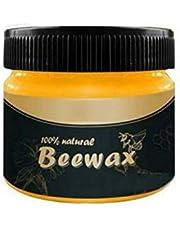 蜜蝋ワックス 天然ワックス 蜜蝋クリーム みつろうワックス オーガニック 天然無添加 ピュアワックス スポンジ付き 木工用 元に回復 研磨剤 Cutelove