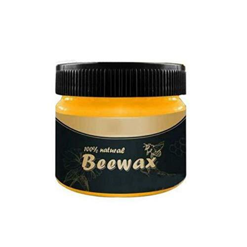 Bebliss Bebliss condimento de madera Beewax orgánico natural pura cera solución completa de muebles cuidado de beewax, limpieza del hogar para el cuidado de muebles naturales B
