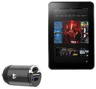 Carregador de carro Kindle Fire HD 8.9 (2ª geração 2012), BoxWave [Mini Carregador de carro Dual PD] Rápido, 2 carregadore...