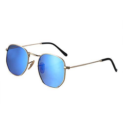 Aroncent Herren Outdoor Polarisierte Sonnenbrille UV-Schutz 400 Leicht, Farbe wählbar blau