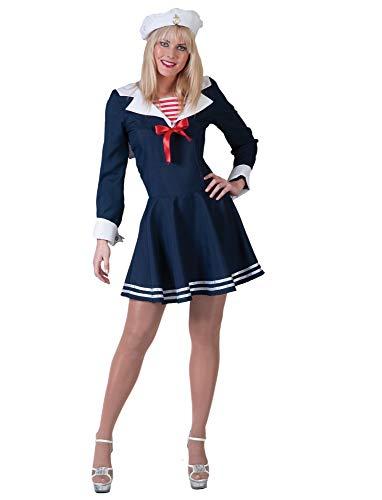Pierro´s Kostüm Marinegirl Matrosin Eltje Größe 44/46