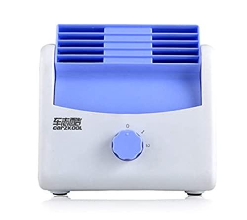 Ventilador de escritorio Material ABS Aire acondicionado sin hojas del coche Ventilador...
