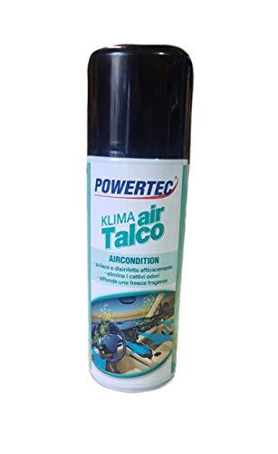 AV, recambios higienizante para coche para aire acondicionado, limpia la higieniza, desinfecta, fácil de usar, 200 ml, Klima Air Talco