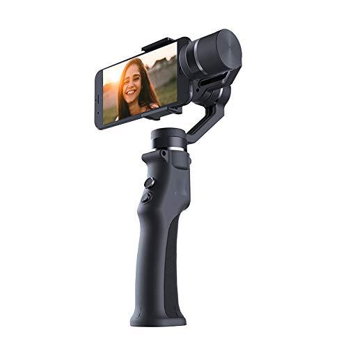 Covan_CN Stabilizzatore cardanico Portatile, Bastone per Selfie con Messa a Fuoco panoramica, stabilizzatore Intelligente a Tre Assi, Adatto per Una varietà di telefoni cellulari/Fotocamere