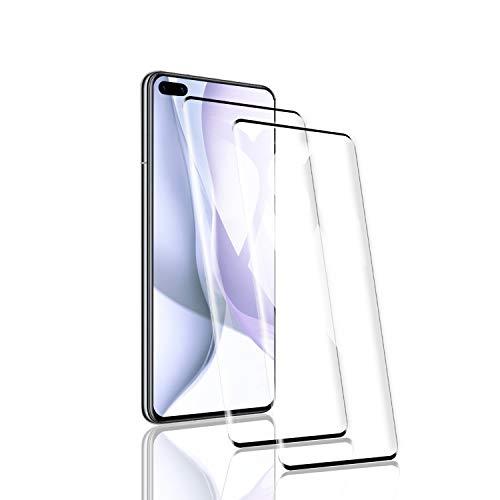 RSSYTZ [2 Pack Protector de Pantalla para Huawei P40 Pro, [9H Dureza] [Resistente a Arañazos] [Admite la función de Huella Digital] Vidrio Templado Screen Protector para Huawei P40 Pro