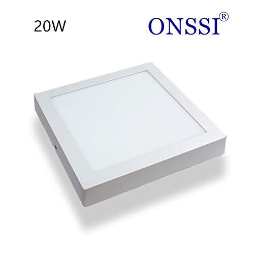 Plafón de Techo LED Cuadrado 22x22 cm