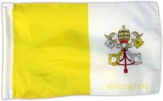 Fahne Flagge Vatikan 30 x 45 cm [Spielzeug]